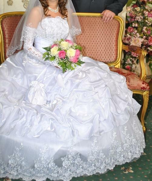 Иваново | Продам красивое белоснежное свадебное платье | baraholka
