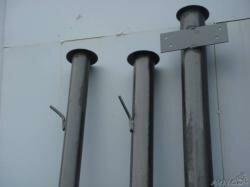Столбы металлические для забора. Доставка бесплатная